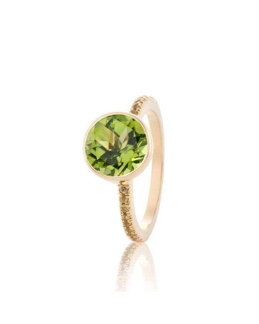 Biiju - Multicolor Peridot Jazz Ring - Lyst
