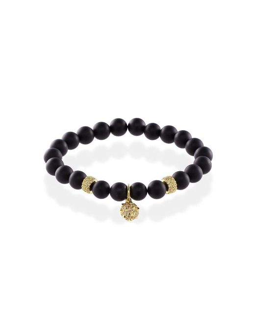 MARCOS DE ANDRADE - Multicolor Spike Onyx Bracelet With 18kt Gold - Lyst