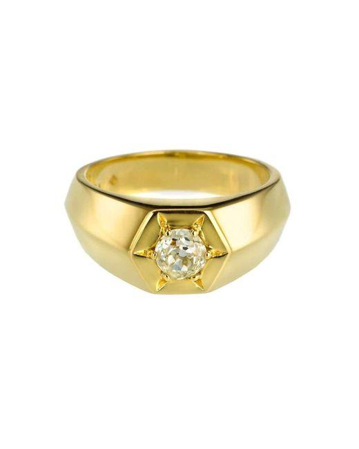 Alexis Kletjian | Metallic Bespoke Lucky Star Gold Ring | Lyst