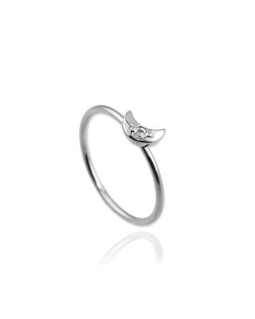 Jana Reinhardt Jewellery - Metallic Moon Ring - Lyst