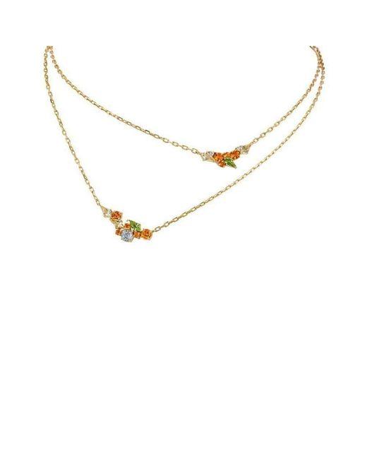 Madstone Design | Metallic Melting Ice Double Kite Necklace | Lyst