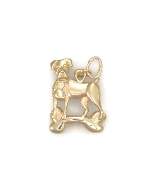 Donna Pizarro Designs 14kt Yellow Gold German Shepherd Charm HJv0b1Yd