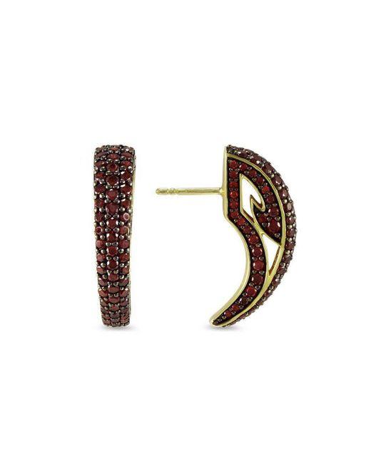 REALM - Multicolor Sceptre Pave Talon Earring - Lyst