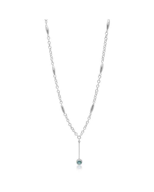 Designs by JAK - Multicolor Susanne Sky Blue Topaz Dangle Necklace - Lyst