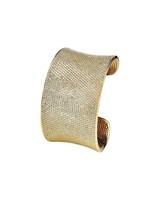 Lustre of London - Multicolor Yellow Lustre Cuff - Lyst