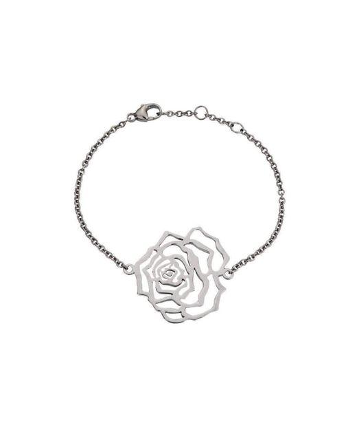 MANJA Jewellery - Multicolor Rosa Large Silver Bracelet - Lyst