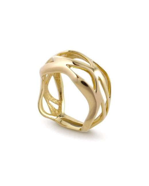 Chavin Couture - Metallic 18kt Yellow Gold Ring - Lyst