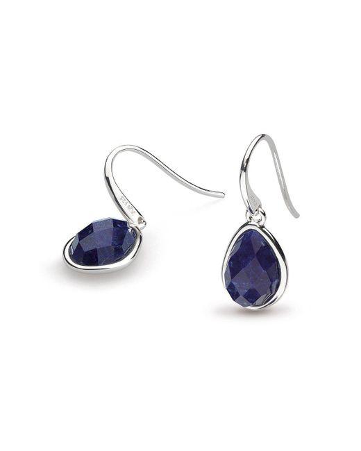 Kit Heath - Blue Coast Pebble Lapis Lazuli Drop Earrings - Lyst