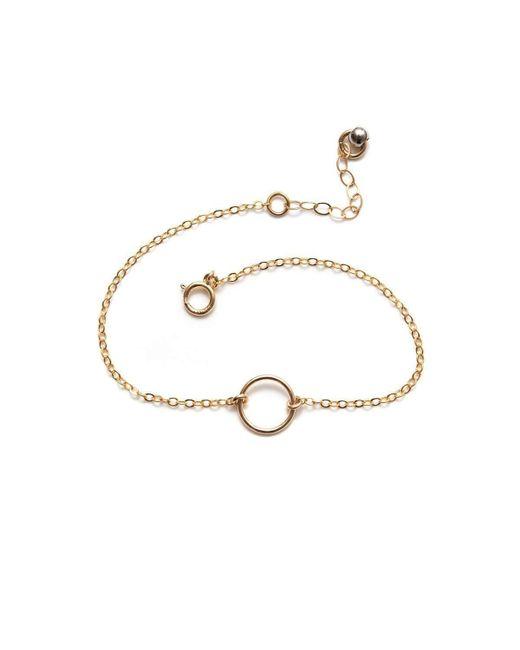Amundsen Jewellery | Metallic Tiny Infinity Bracelet | Lyst