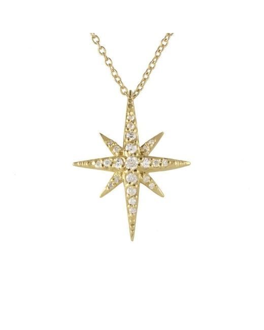 Joely Rae Jewelry - Metallic Yellow Gold Cassiopeia Necklace - Lyst