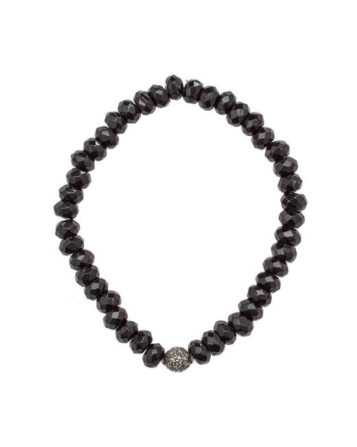 Heather Kenealy Jewelry - Black Onyx And Pave Diamond Bracelet - Lyst