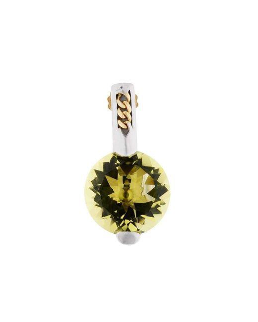 Franco Piane Designed By Franco Pianegonda - Metallic Golden Drops Earrings - Lyst