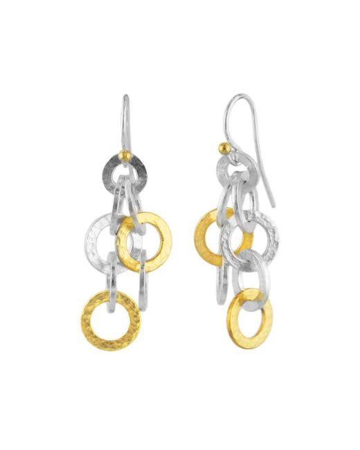 Gurhan - Metallic Hoopla Infinity Multi-layered Drop Earrings - Lyst
