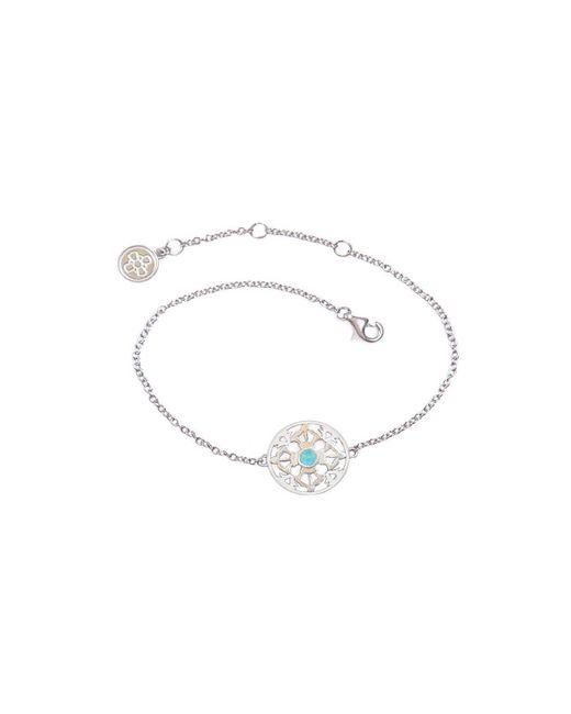 Silatha - Fine Jewellery & Meditation - Multicolor The Ocean Of Infinity White Gold Bracelet - Lyst