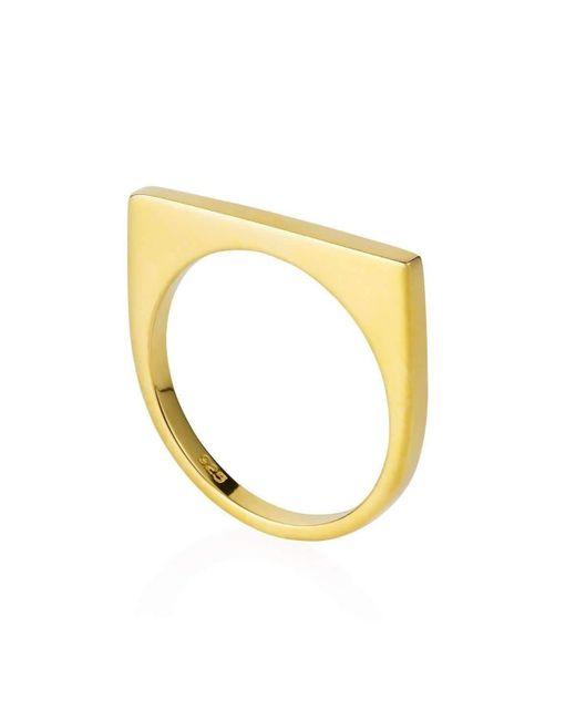 Neola - Metallic Minerva Ring Gold - Lyst