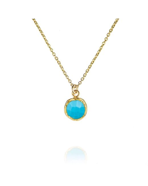 Zefyr Dosha Necklace Sterling Silver With Turquoise IXVmIXLH3