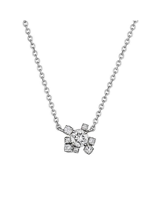 Madstone Design - Metallic Melting Ice Diamond Pendant - Lyst