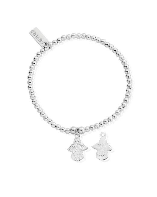 ChloBo Metallic Cute Charm Made For An Angel Bracelet