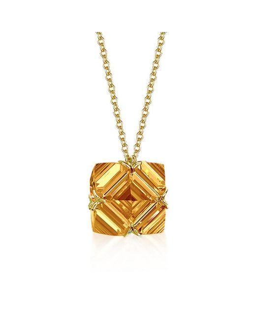 Paolo Costagli New York - Metallic Citrine Very Pc Pendant Necklace, Petite - Lyst