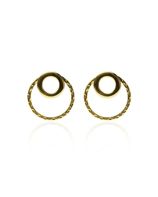 Carao Jewelry - Metallic Cadence Ear Jackets Gold Plated - Lyst