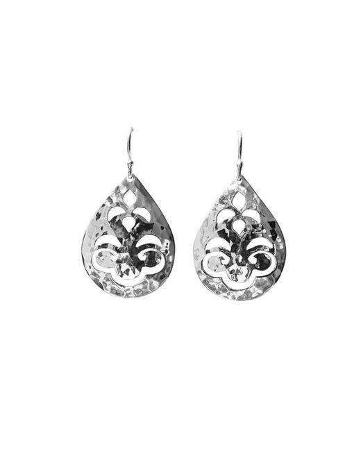 Murkani Jewellery   Multicolor Tear Drop Small Silver Earrings   Lyst
