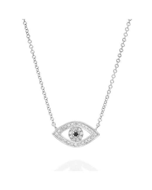 SHARON Fine Jewelry | Metallic Big Eye Necklace | Lyst