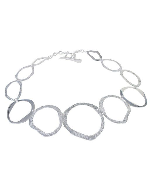 Reeves and Reeves - Metallic Pebbles Necklace - Lyst