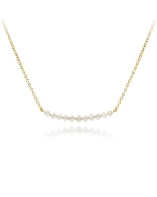 AMMA Jewelry - Metallic Gold Pearl Drops Necklace | - Lyst