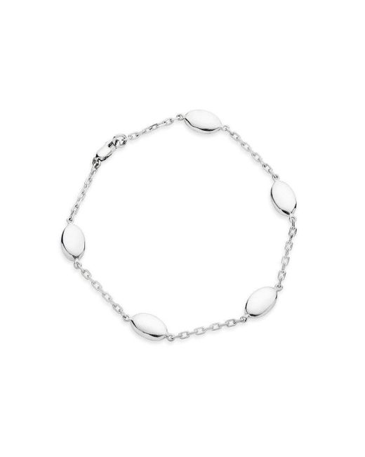 Augustine Jewels - Multicolor Sterling Silver Parisian Bracelet - Lyst