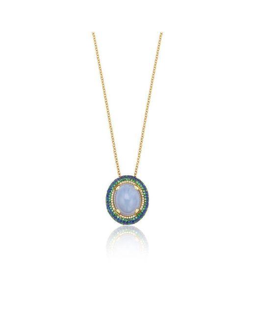 Niquesa Fine Jewellery - Multicolor Venice Bauta Chalcedony Pendant - Lyst