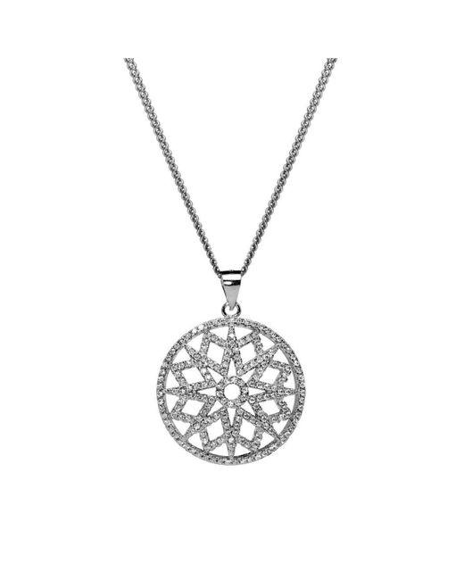 Lustre of London - Metallic Starburst Pendant - Lyst