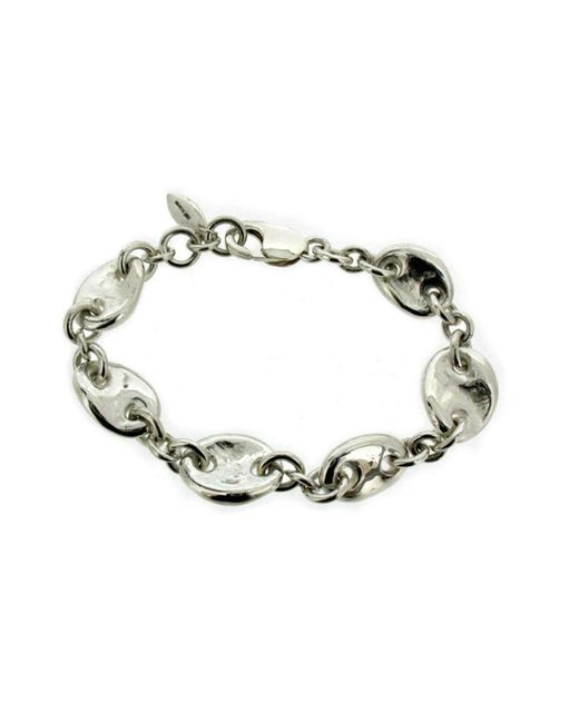 Will Bishop - Metallic Sterling Silver Chunky Link Bracelet - Lyst