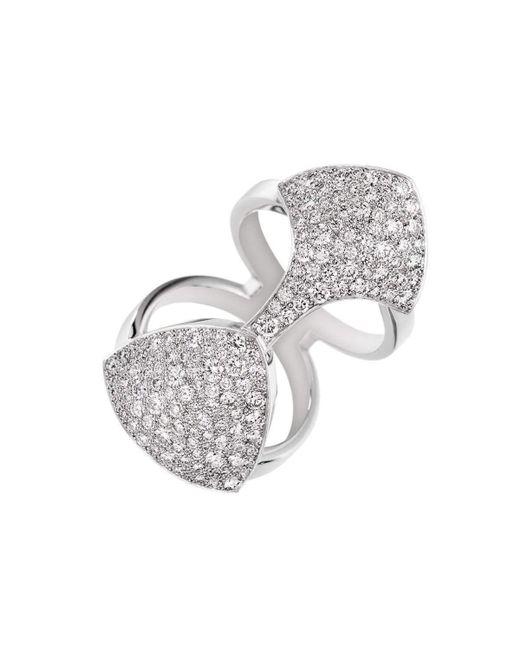 Akillis Python Armor White Gold Set With Diamonds Ring - UK L 1/4 - US 5 3/4 - EU 52 cZp97cerM
