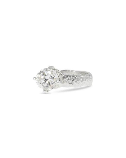 Paul Magen Metallic Sterling Silver Teneo Ring |