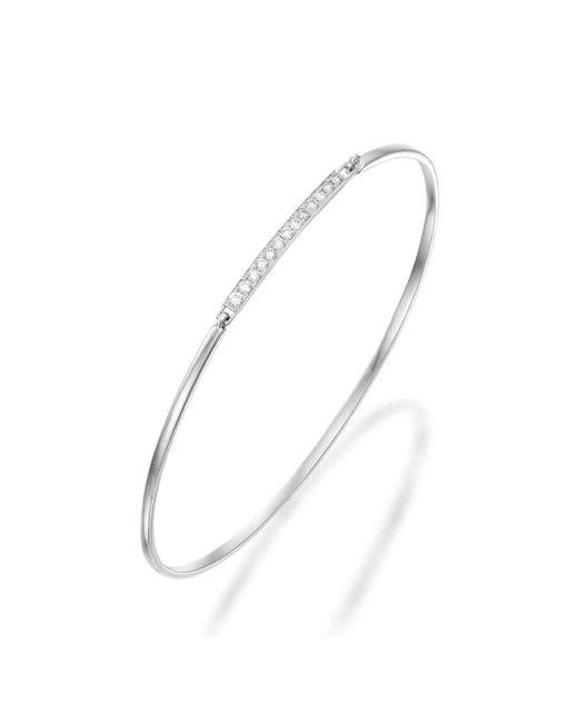 SHARON Fine Jewelry | Multicolor Pave Bar Bangle | Lyst