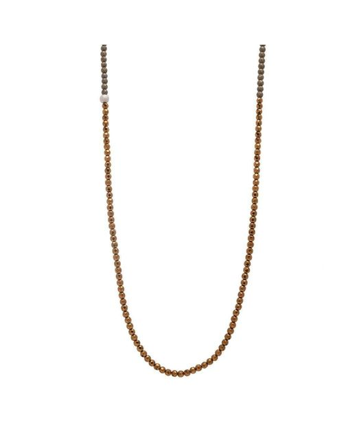 Faystone | Metallic Mars Necklace | Lyst