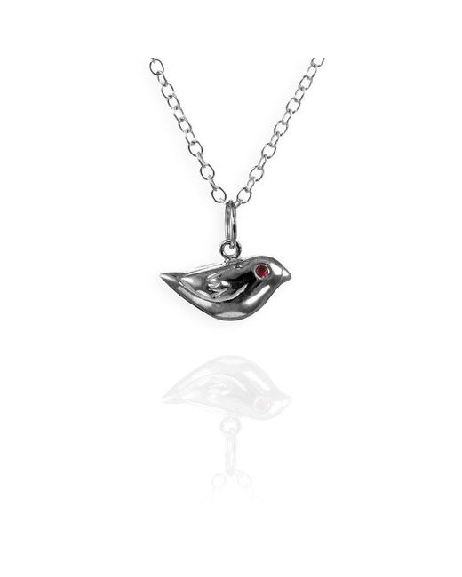 Jana Reinhardt Jewellery - Metallic Little Sparrow Silver Charm Necklace - Lyst