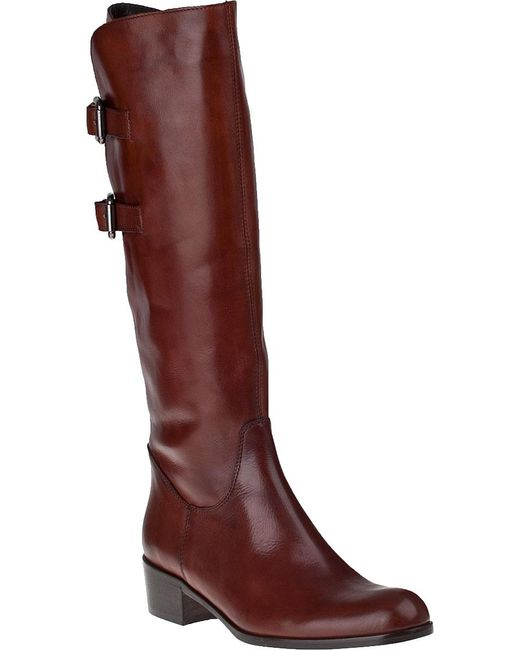 Sesto Meucci | Brown Boomer Leather Riding Boot  | Lyst