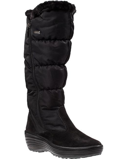 Pajar   Amanda Snow Boot Black Fabric   Lyst