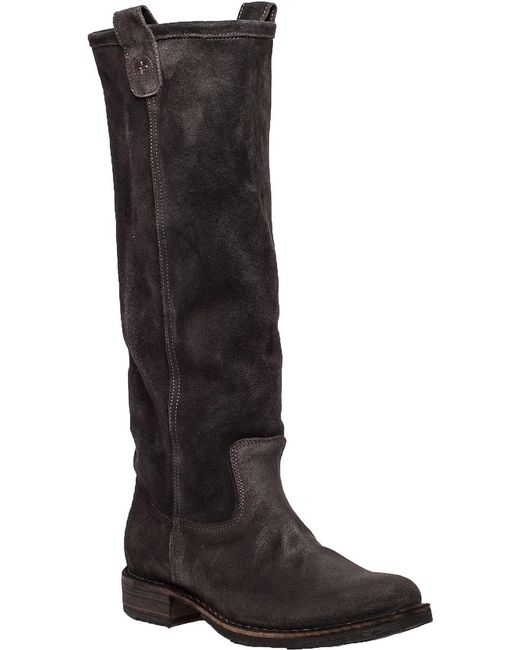 Fiorentini + Baker | Brown Eternity Effie Suede Knee-High Boots | Lyst