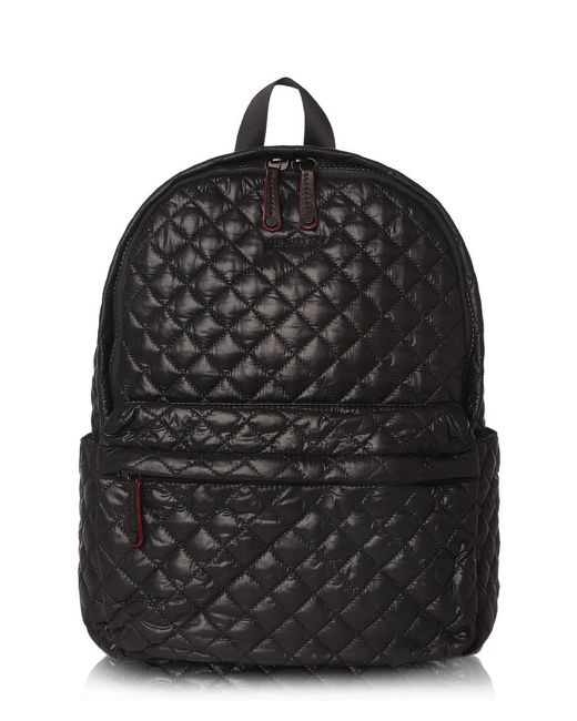 MZ Wallace   Medium Metro Backpack Black Oxford Nylon   Lyst