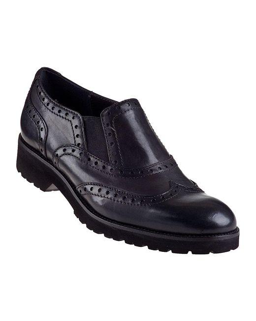 Sesto Meucci   Omega Oxford Black Leather   Lyst