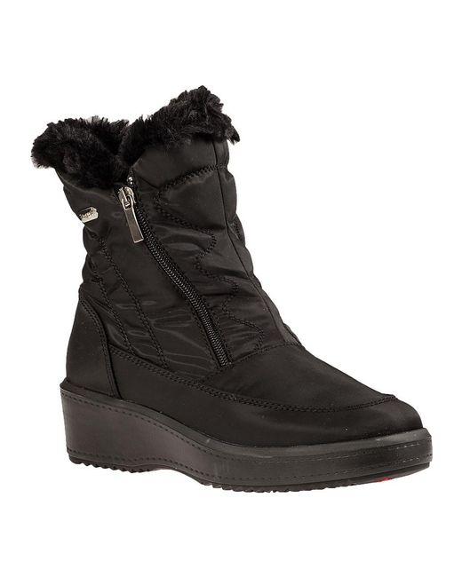 Pajar | Veronica Snow Boot Black Fabric | Lyst