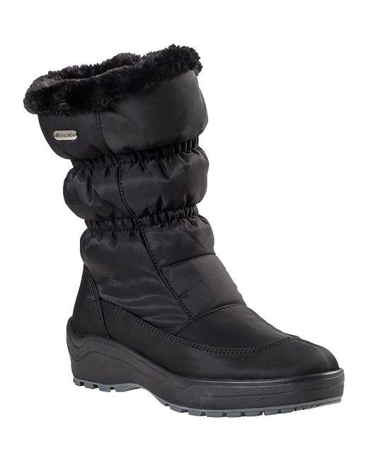 Pajar   Snowcap Snow Boot Black Fabric   Lyst
