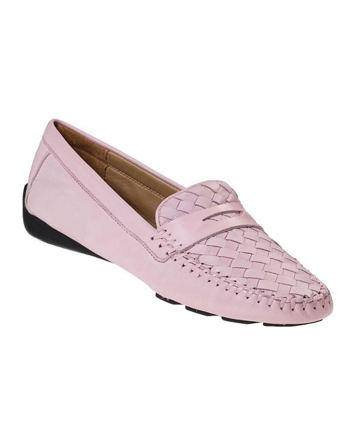 Robert Zur | Petra Loafer Seashell Pink Leather | Lyst