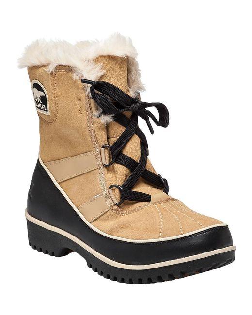 Sorel - Brown Tivoli Ii Snow Boot Tan Suede - Lyst