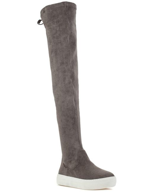 J/Slides - Gray Ary Boot Grey Ultra Suede - Lyst