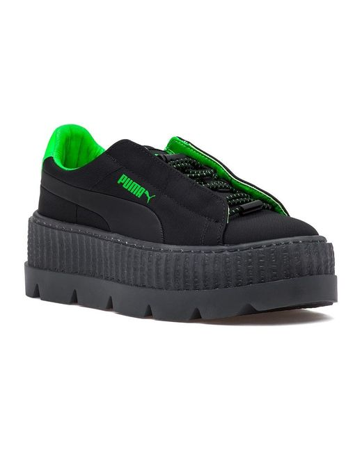 PUMA Fenty Cleated Creepers in Green - Save 40% - Lyst c412b56cf