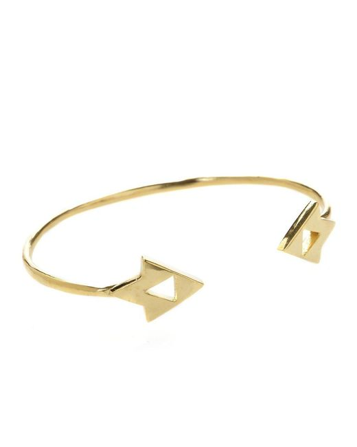 Jill Golden | Yellow Vertex Cuff | Lyst