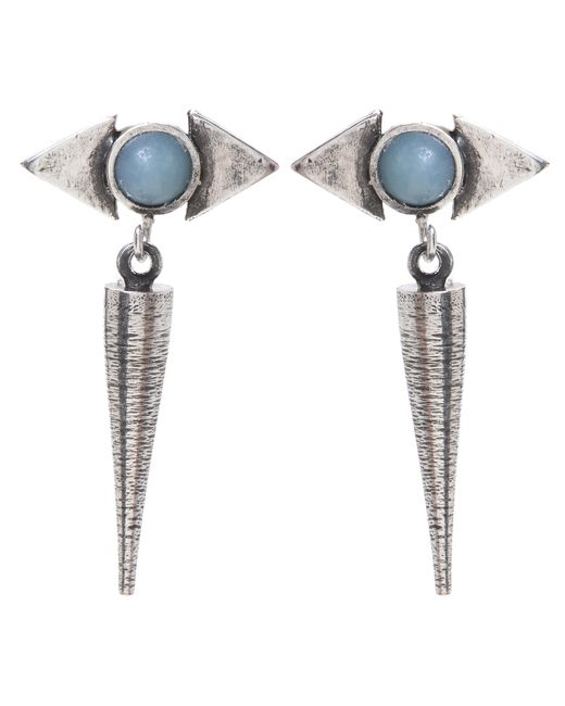 Jill Golden   Metallic Reflection Spike Earring   Lyst